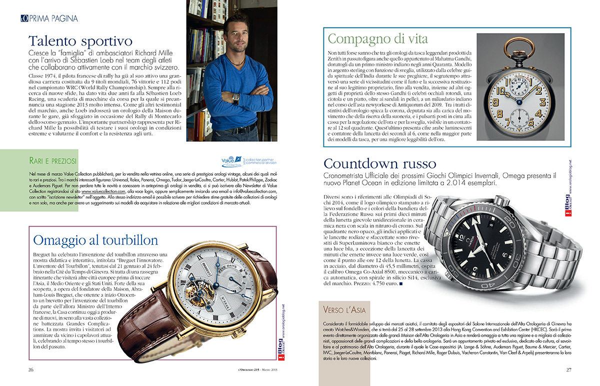 Van Der Bauwede : IT-orologio